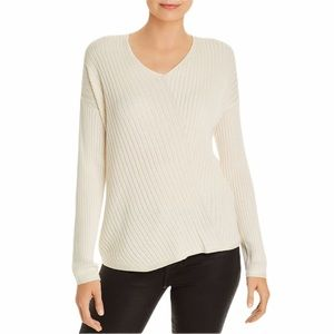 Eileen Fisher Directional Organic Ribbed Sweater